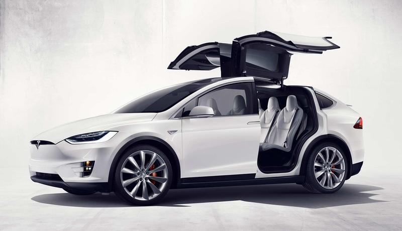 特斯拉Model X 纯电动suv