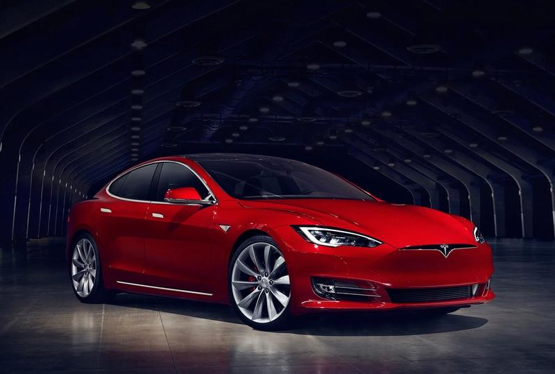 特斯拉Model S 纯电动豪华轿车